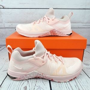 New Nike Metcon Flyknit 3 Pink White Womens